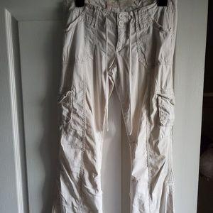 Hollister White Pants/Capris